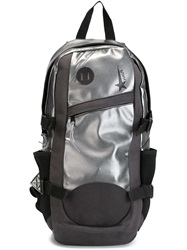 Haus Panelled Backpack Grey