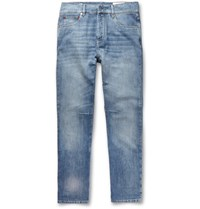 Brunello Cucinelli Faded Denim Jeans Blue