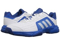 Adidas Barricade Court 2 White Shock Blue Men's Tennis Shoes