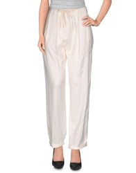 Tela Trousers Casual Trousers Women White