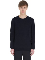 Massimo Piombo Alpaca Blend Crew Neck Sweater