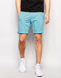 Selected Homme Chino Shorts Light Blue