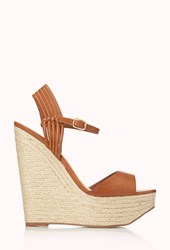 Forever 21 Favorite Espadrille Wedge Sandals