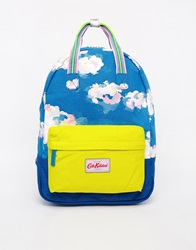 Cath Kidston Small Cotton Backpack Trueblue