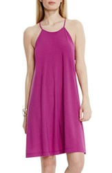 Vince Camuto Women's Crepe Knit Halter Swing Dress