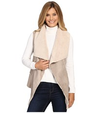 Hatley Faux Sherling Vest Natural Women's Vest Beige
