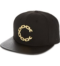Crooks And Castles 9Fifty Thuxury Chain Logo Strapback Black