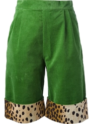 Labour Of Love Corduroy Shorts Green