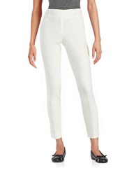 Ivanka Trump Pleated Dress Pants Ivory