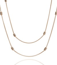 Annoushka Alchemy Diamond Long Chain Necklace Female Gold
