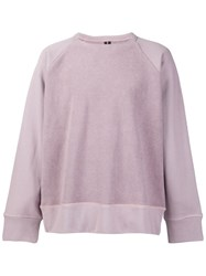 Mr. Completely Classic Sweatshirt Pink And Purple