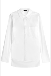 Donna Karan New York Cotton Shirt White