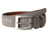 Torino Leather Co. 35Mm Italian Calf Suede Gray Men's Belts