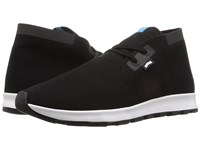 Native Apollo Chukka Hydro Jiffy Black Jiffy Black Shell White Jiffy Rubber Lace Up Casual Shoes