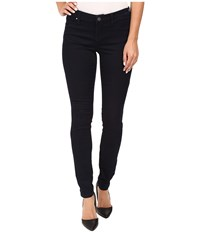 Blank Nyc Dark Blue Regular Rise Skinny In Shotgun Rider Blue Women's Jeans