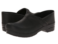 Dansko Professional Oiled Leather Men's Black Oiled Men's Clog Shoes