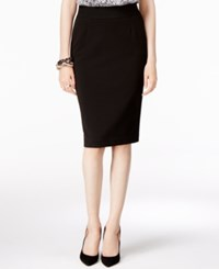Alfani Classic Pencil Skirt Only At Macy's Deep Black