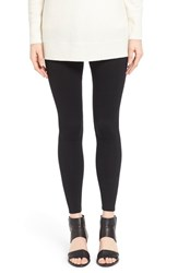 Petite Women's Eileen Fisher Tencel Fleece Ankle Leggings