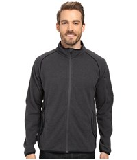 Merrell Windthrow Full Zip Fleece 2.0 Jacket Asphalt Men's Coat Black