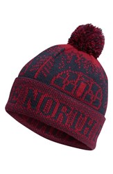 The North Face Men's Fair Isle Beanie Blue Urban Navy