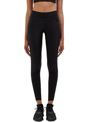 Y 3 Sport Lite Zipped Cuff Leggings Black