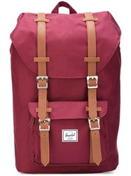 Herschel Supply Co. 'Lil Amer' Backpack Red