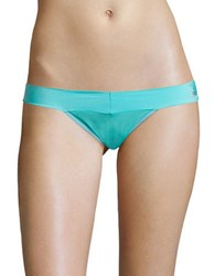 Betsey Johnson Forever Thong Teal