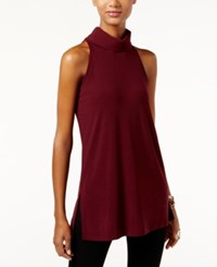 Inc International Concepts Mock Turtleneck Keyhole Tunic Only At Macy's Port