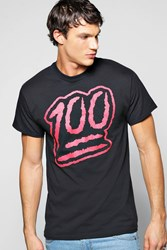 Boohoo Slogan T Shirt Black
