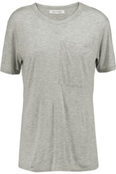 10 Crosby By Derek Lam Jersey T Shirt Gray