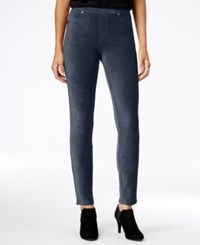 Styleandco. Style Co. Petite Corduroy Leggings Only At Macy's Industrial Blue