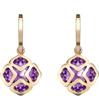 Chopard Imperiale 18Ct Rose Gold And Amethyst Earrings