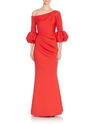 Jovani Asymmetrical Flared Gown