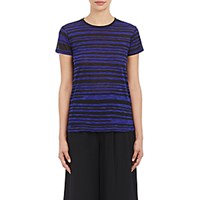 Proenza Schouler Women's Tissue Weight T Shirt Blue