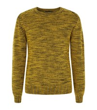 3.1 Phillip Lim Two Tone Wool Sweater Male Yellow
