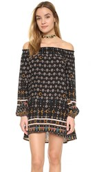 Cleobella Dresden Dress Tribal Print