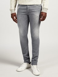 Diesel Tepphar 0853T Carrot Jeans Light Grey