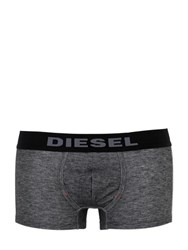 Diesel Denim Effect Stretch Cotton Boxer Briefs