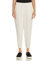 Dkny Jogger Ankle Pants Gesso