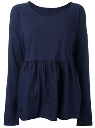 Rundholz Relaxed Fit Blouse Blue