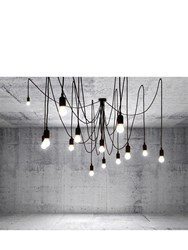 Seletti Maman Ceiling Lamp With 14 Lights