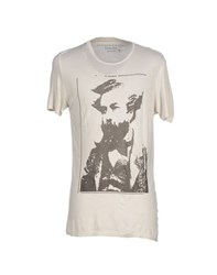 Daniele Fiesoli Topwear T Shirts Men Light Grey