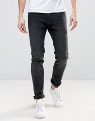 Weekday Friday Skinny Jeans Black Coal Black Coal 08 220