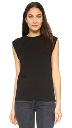 Helmut Lang Sleeveless Crew Neck T Shirt Black