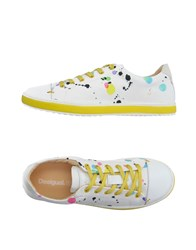 Desigual Footwear Low Tops And Trainers Women White
