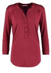 Anna Field Long Sleeved Top Pomegranate Bordeaux