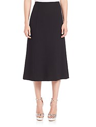 Nanette Lepore Twill Sailor Skirt Black