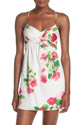 Women's Kate Spade New York Rose Print Cotton Chemise