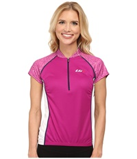 Louis Garneau Astoria 2 Jersey Peony Women's Workout Pink