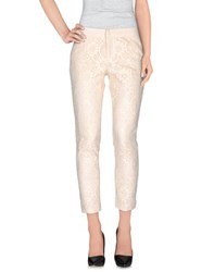 Masscob Trousers Casual Trousers Women Ivory